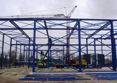 Nieuwbouw bedrijfspand