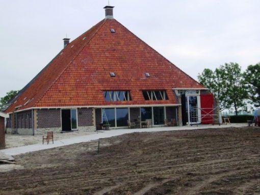 Verbouw / renovatie en onderhoud woonboerderij It Heidenskip