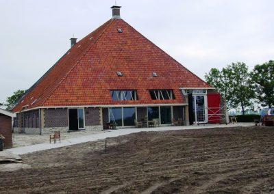 Verbouw / renovatie en onderhoud woonboerderij en stal te It Heidenskip