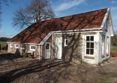 renovatie en verbouw woudboerderij te Wijnjewoude