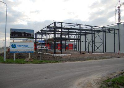 Nieuwbouw bedrijfspand Bolsward