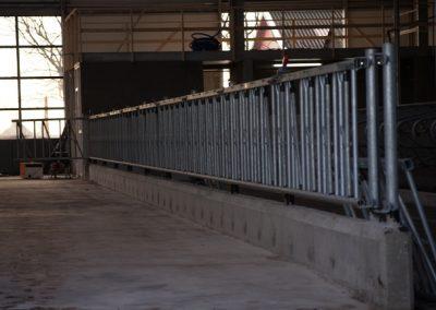 Nieuwbouw ligboxenstal te It Heidenskip