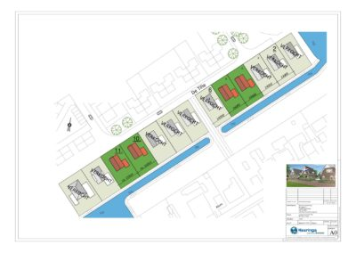 Situatie Arum - project kavels - 26-03-20191
