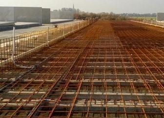 Nieuwbouw stal te Nijland