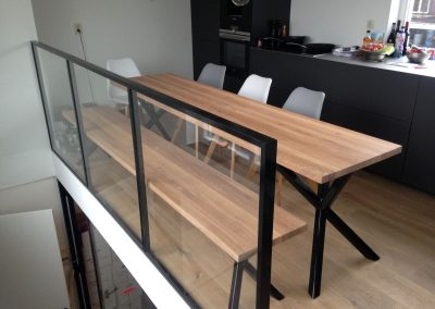 Renovatie en verbouw appartement Amsterdam