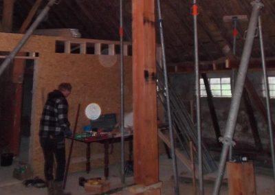renovatie boerderij Drachtstercompagnie