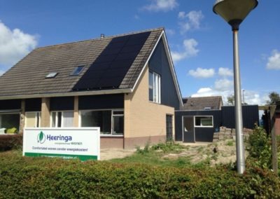 Renovatie energie neutrale woning Witmarsum