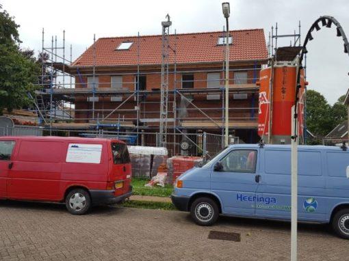 nieuwbouw twee-onder-één-kap woning Koudum