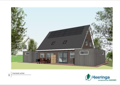 energie neutrale woningen Oudega