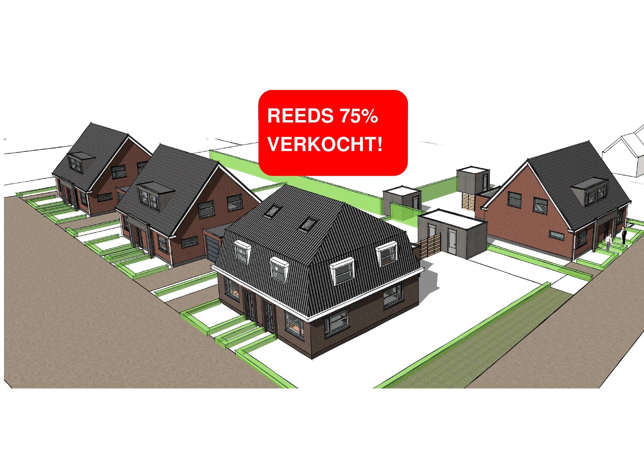 energie neutrale 2-onder-1-kap woningen aan de Simmersnie te Oudega