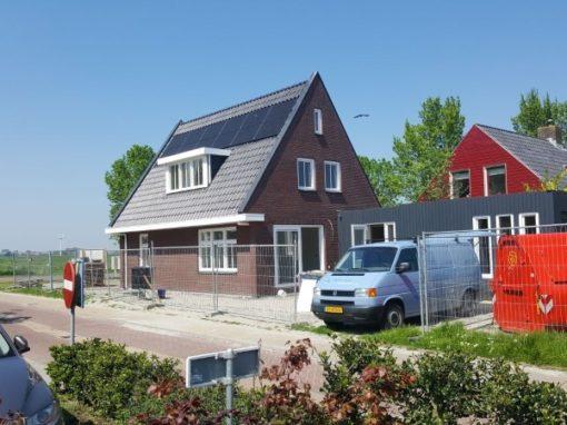 Nieuwbouw energie neutrale woning Workum