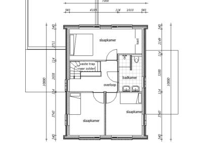 Type marne verdieping