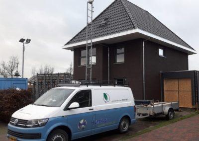 Duurzame energie neutrale nieuwbouw woning te Workum