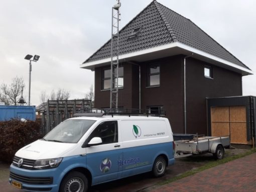 Duurzame energie neutrale nieuwbouw woning Workum