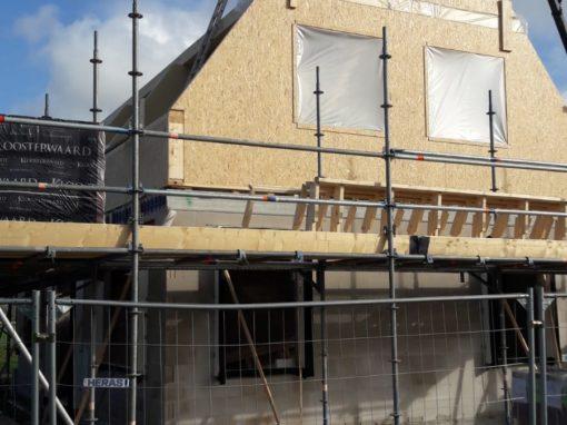 Duurzame energie neutrale nieuwbouw woning Oudega (SWF)