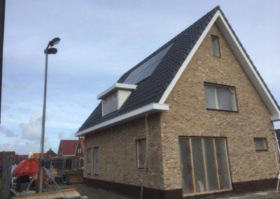 Duurzame energie neutrale nieuwbouw woning Witmarsum