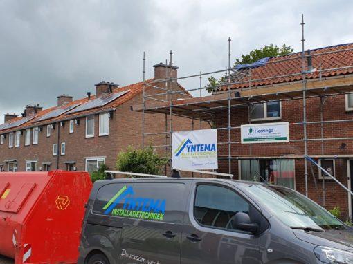 Dak renovatie en uitbouw woning te Makkum