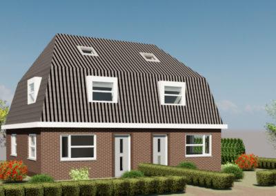 Nieuwbouw woningen Oudega