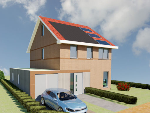 Energie neutrale nieuwbouw woning Witmarsum