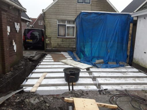 Aanbouw woning Schettens