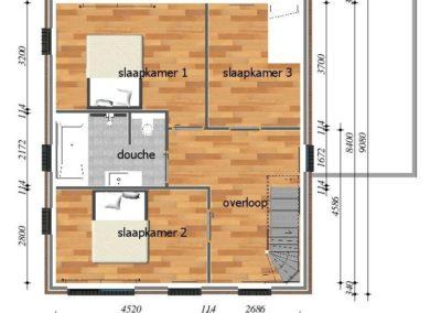 Kavel 14 eerste verdieping