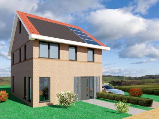 TE KOOP: Energie zuinige nieuwbouw woning Witmarsum