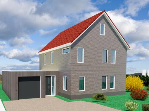 Energie zuinige nieuwbouw woning Witmarsum